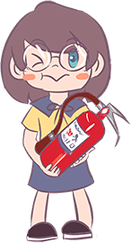 安全教育系列活动报道 消防演练