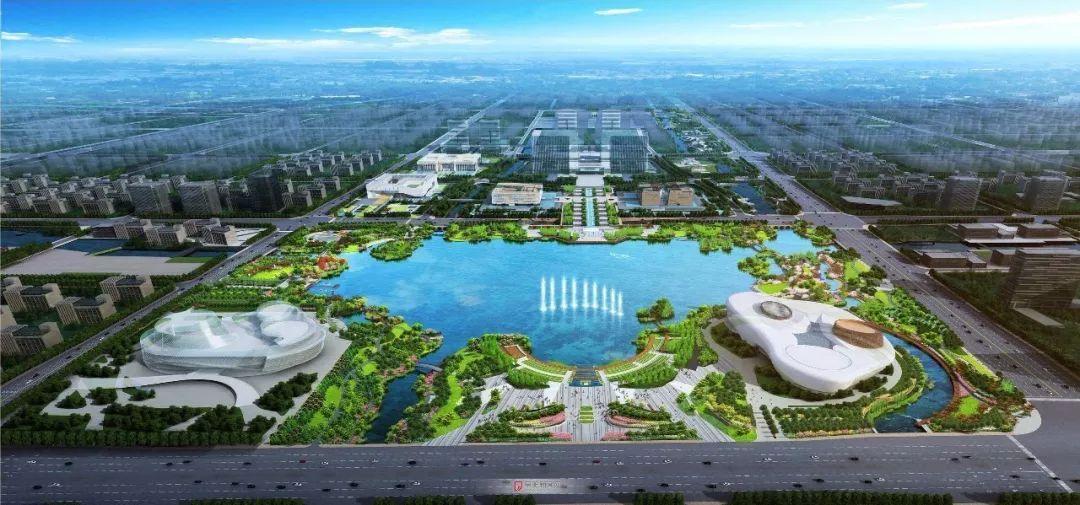 卫辉城南新区规划图
