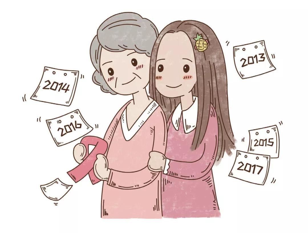我和妈妈一起抗癌的这五年