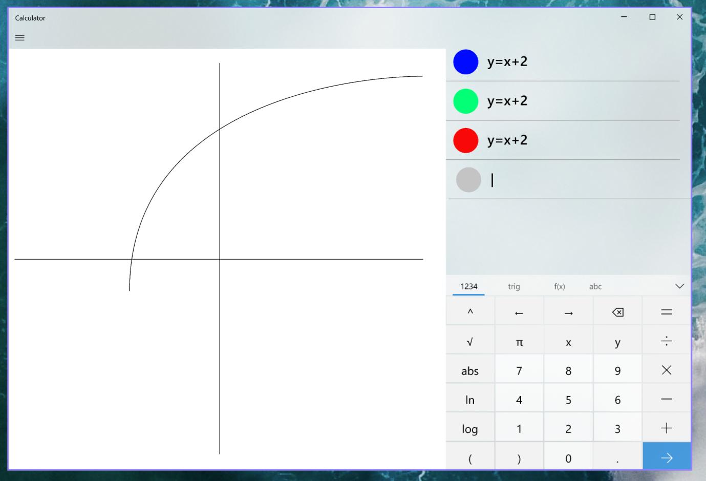 微软考虑为Windows 10的计算器应用加入图形绘制功能
