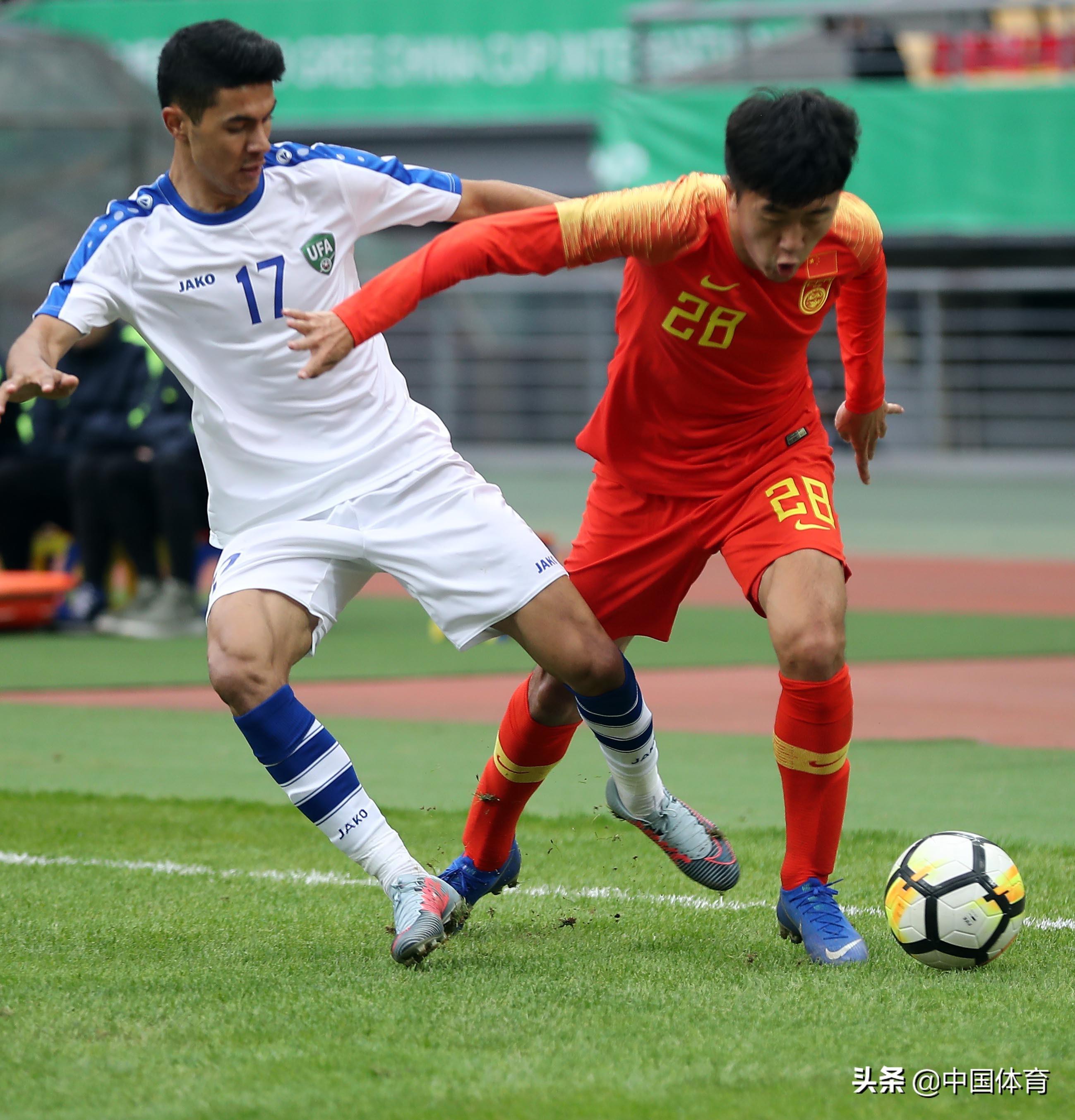 2019中国杯足球赛季军战 中国不敌对手名列第