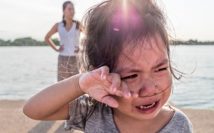 """心理學:三位在哭的小女孩,你想同情哪一位,測出你的情商如何!_情緒"""""""