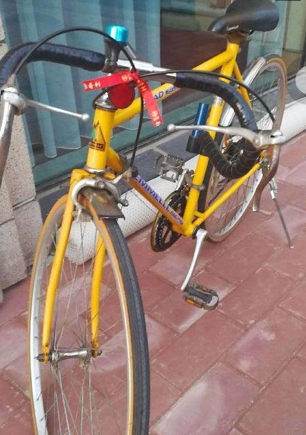 杨幂父亲晒女儿中考礼物,一辆破旧自行车,女儿喜欢的原因很酷
