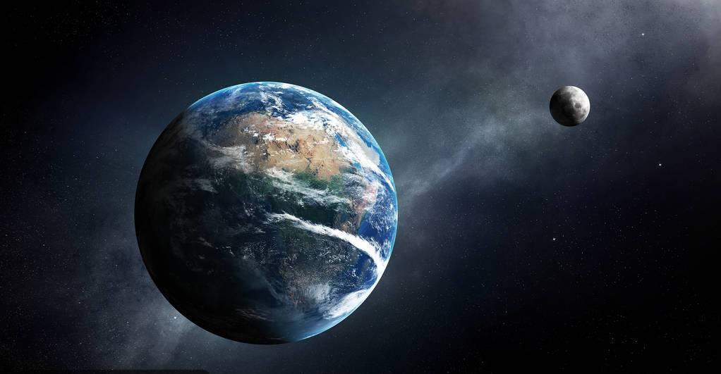 天文知识小课堂,月球的一天一夜是地球的27天,你知道为什么吗?