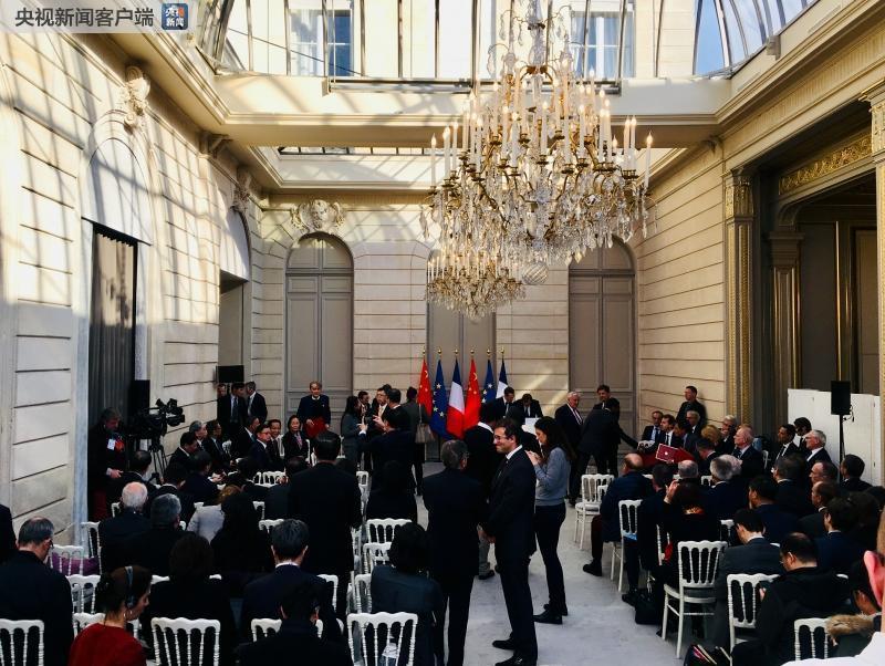 【时政快讯】习近平即将同法国总统马克龙共见记者