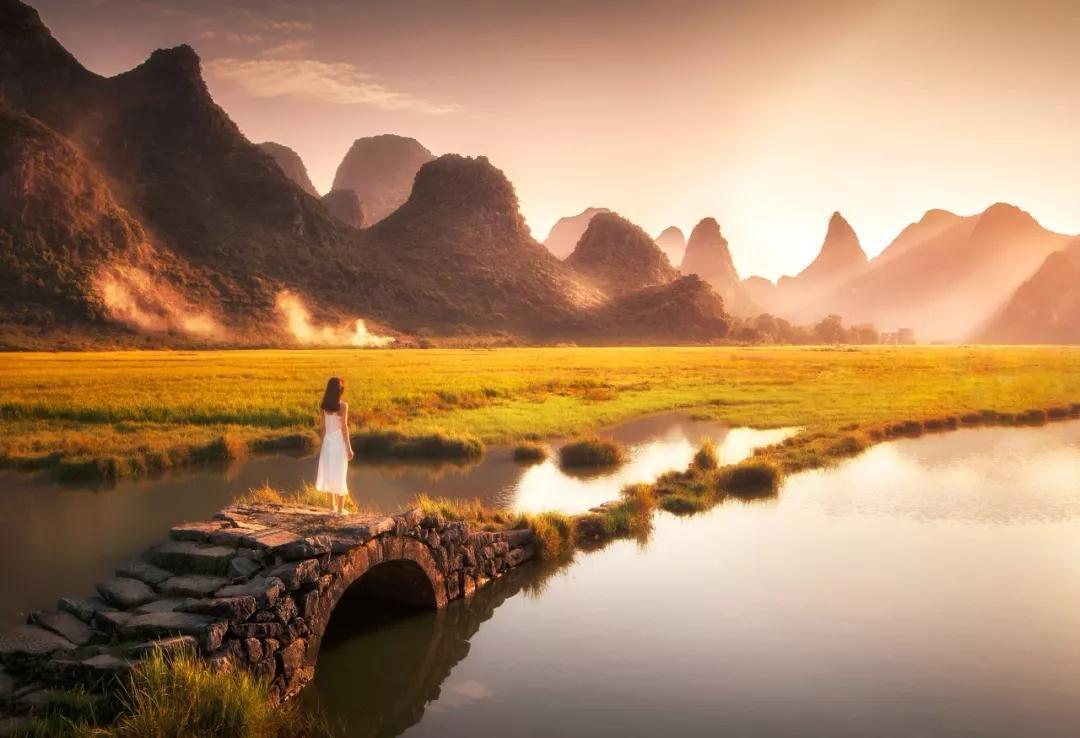 桂林的春天,已经悄悄把摄影师逼疯了,但90%的人却去错