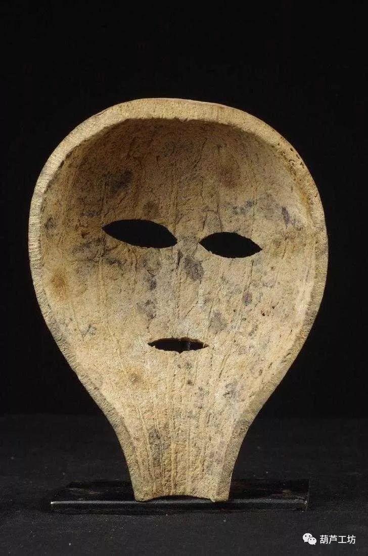 葫芦马勺面具绘画图案