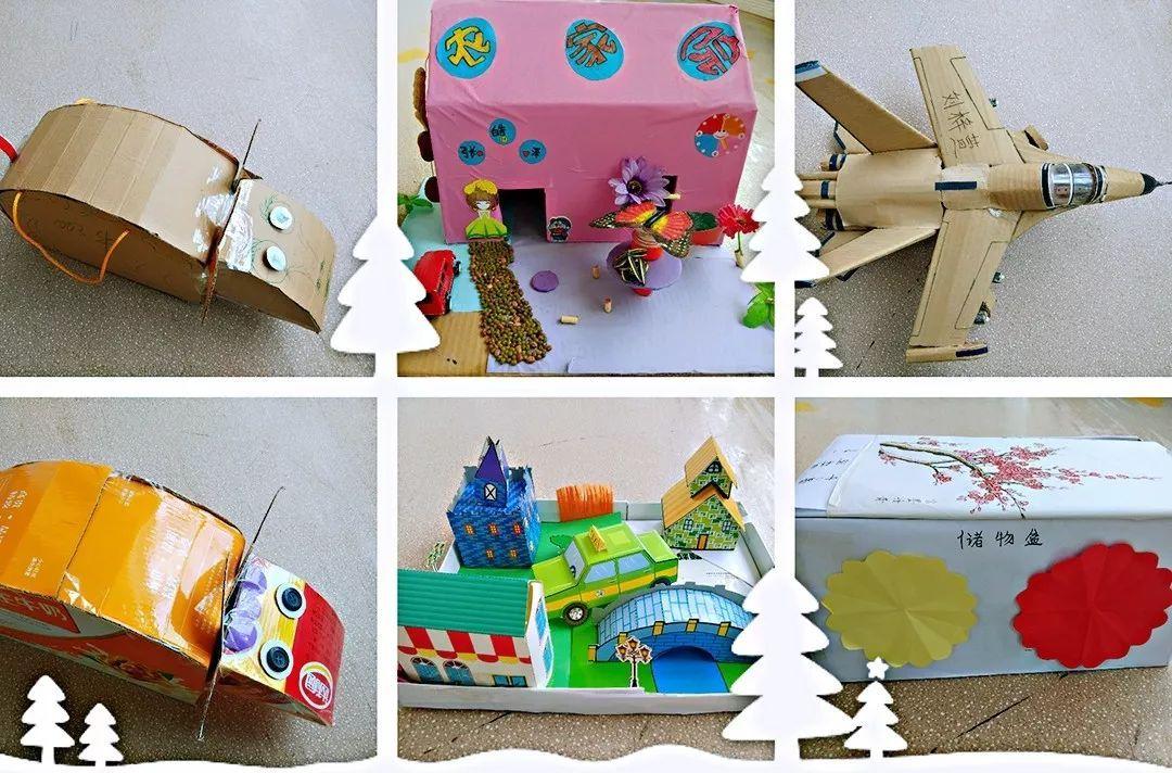 手工立体月饼_幼儿园纸箱手工作品图片展示_幼儿园纸箱手工作品相关图片下载