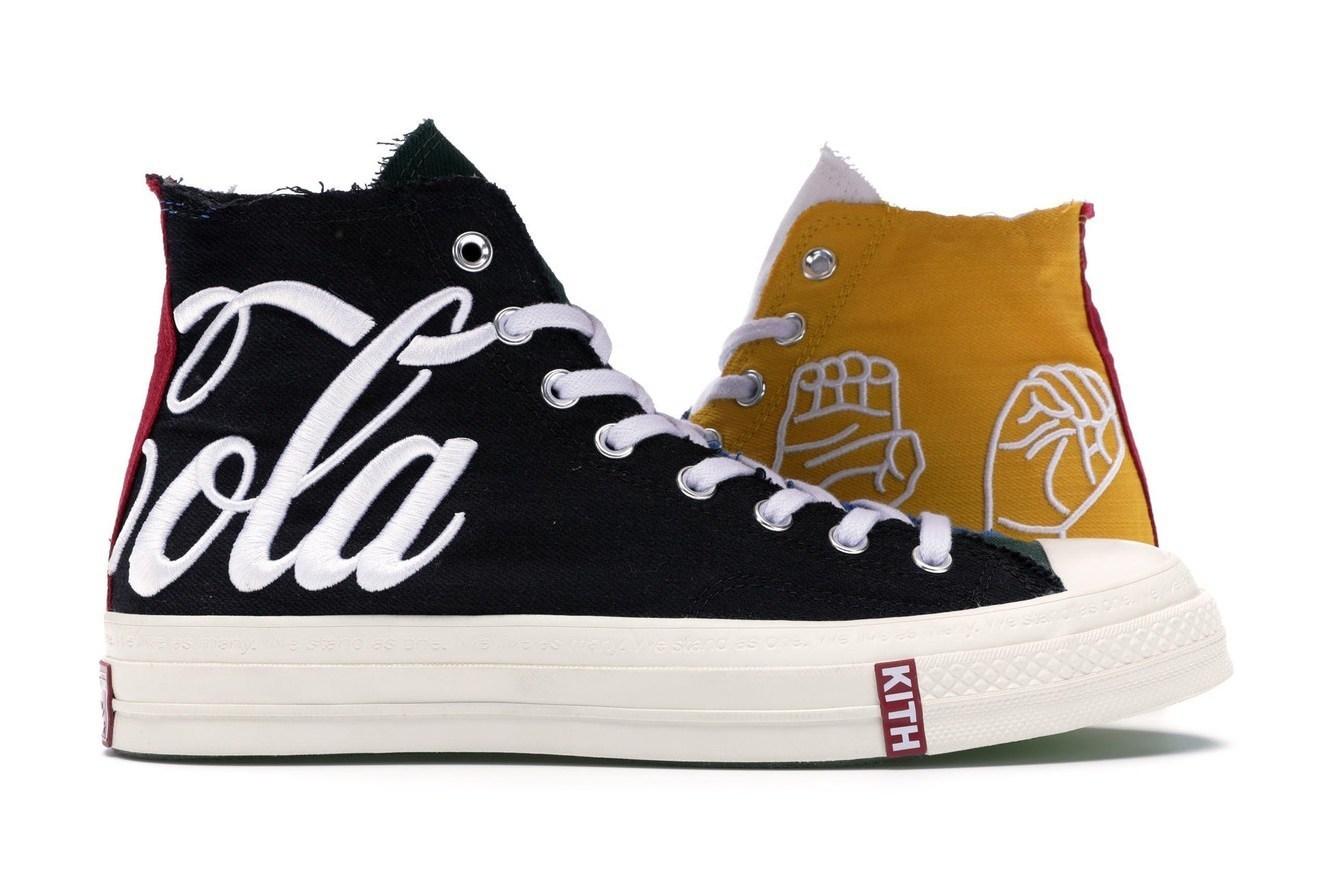 KITH x Coca Cola x Converse特殊版本出现,这才是鞋王之一了