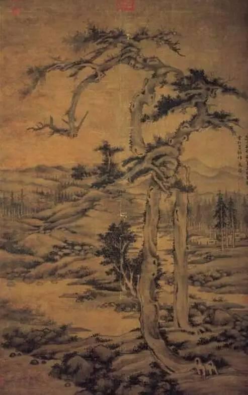 蒋介石最爱的古画,件件都是国宝级