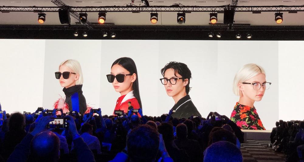 华为公布与韩国太阳镜品牌 Gentle Monster 合作的智能眼镜