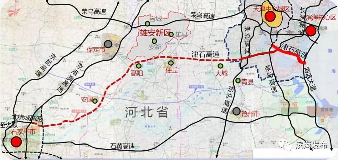 无极县城区规划图