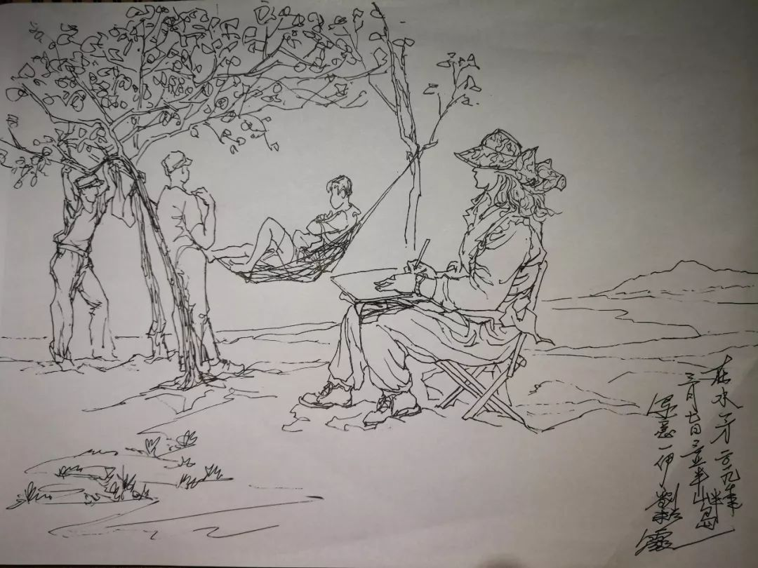 刘彩霞三亚写生班 师生作品锦集