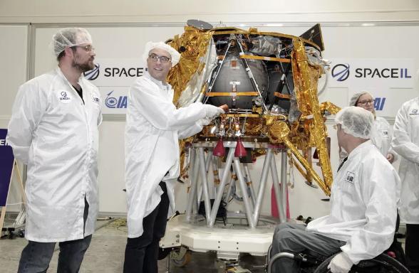 以色列团队SpaceIL的着陆器如果成功登陆月球 将赢得100万美元奖金