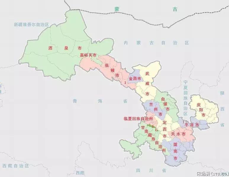 甘肃省人口分布_甘肃之最 附历届领导名单 ,朋友圈疯转