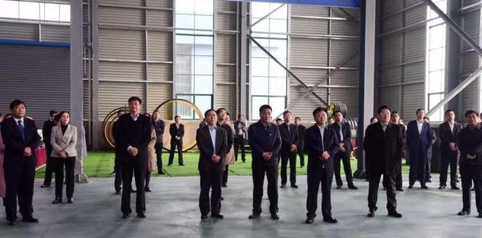 全市产业集聚区项目观摩团莅临汝南,看了这几个企业