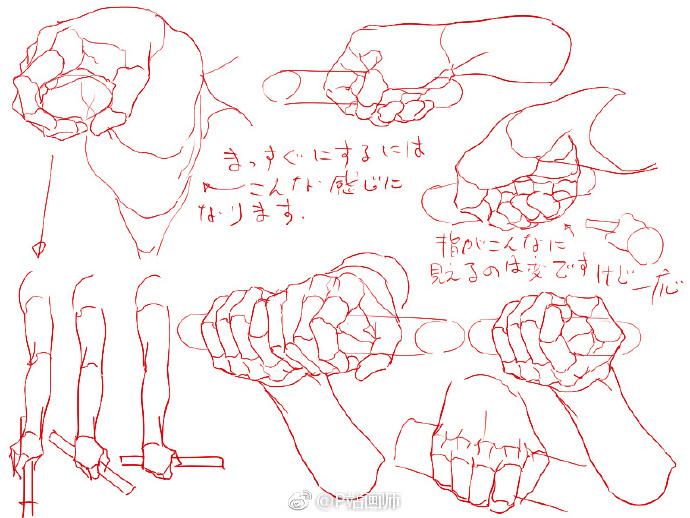 【绘画教程】各种手拿器具的参考素材 教学教程-第4张