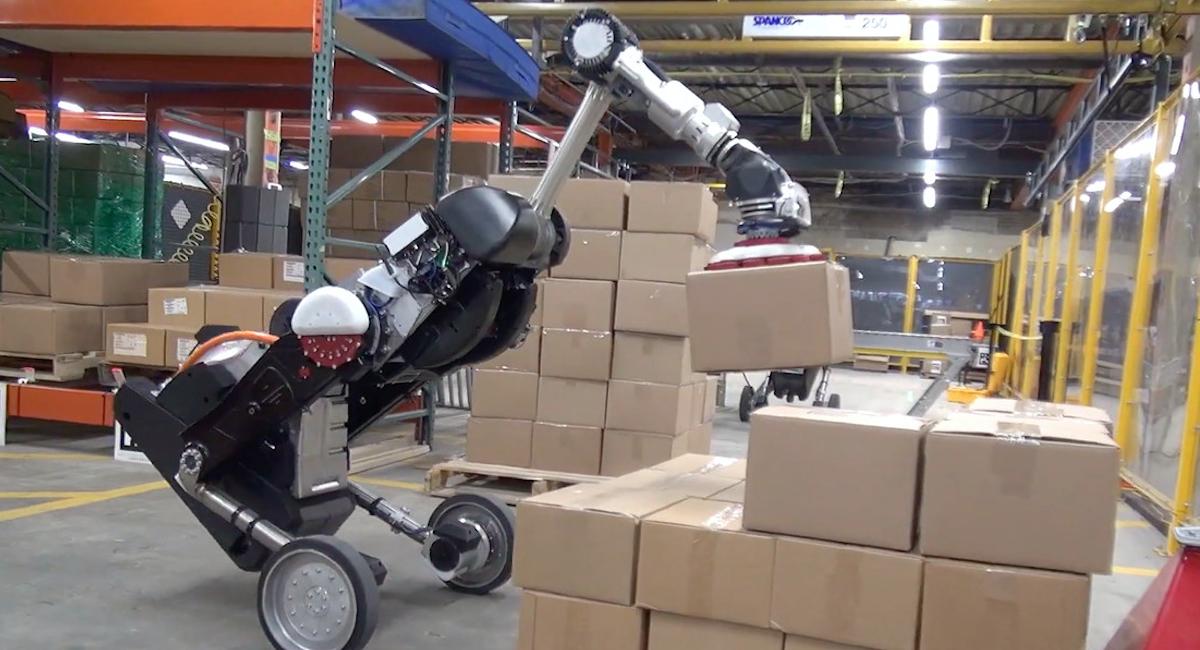 波士顿动力推新机器人,「搬砖」比人厉害多了