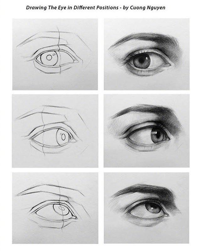 【板绘教程】如何画眼睛、鼻子与嘴唇? 教学教程-第7张