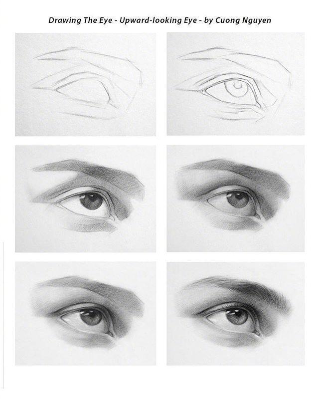 【板绘教程】如何画眼睛、鼻子与嘴唇? 教学教程-第5张