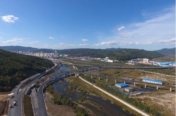 集安至通化高速公路项目全面复工  2019年交工通车