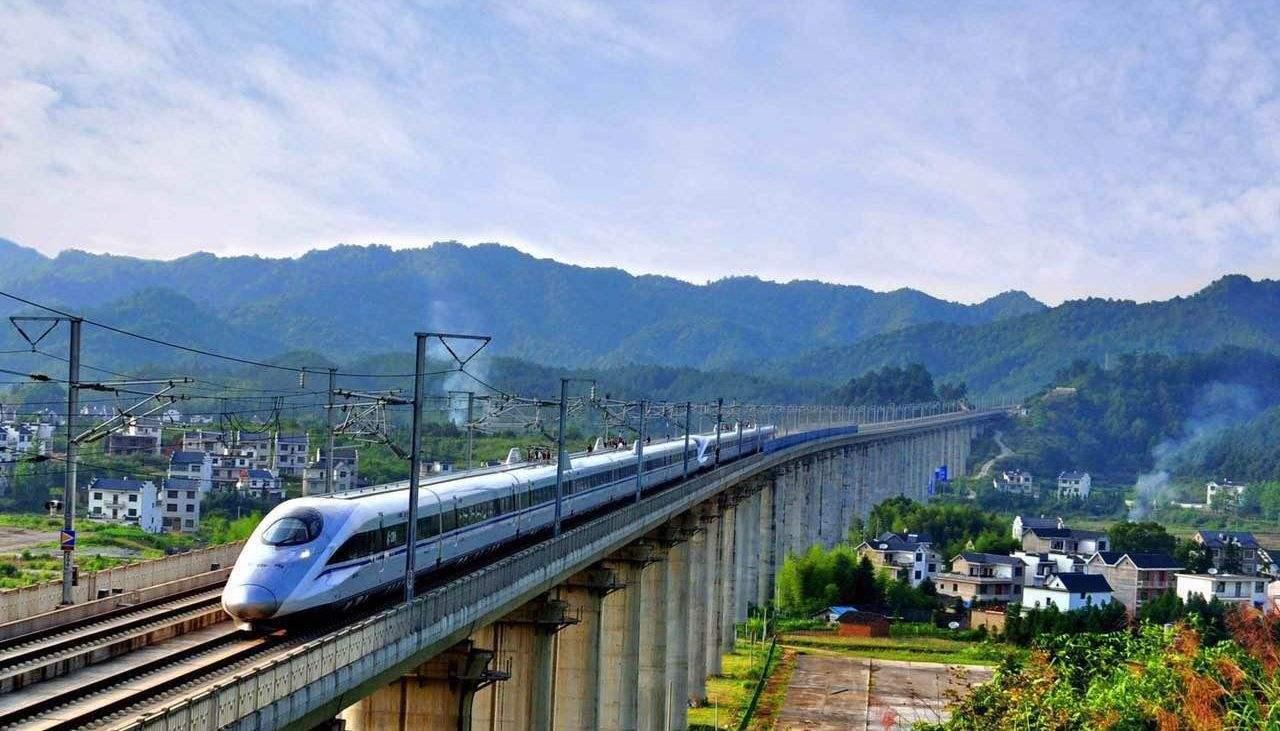 上海到广州高铁票图片