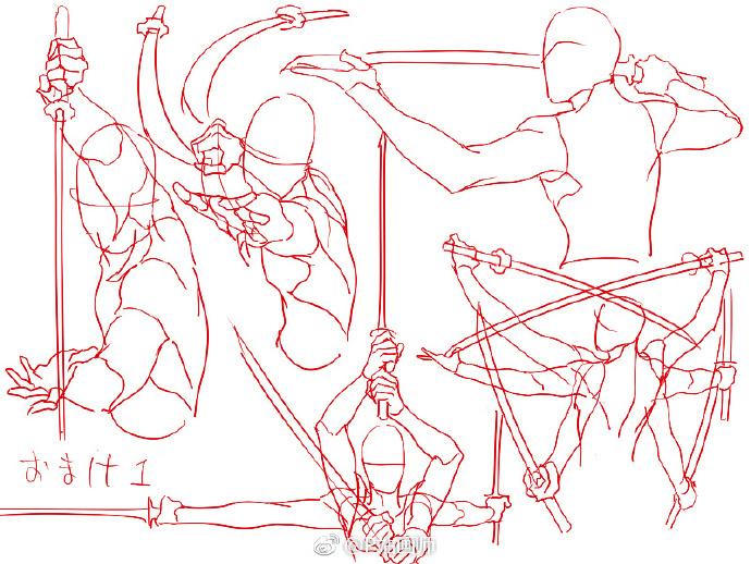 【绘画教程】各种手拿器具的参考素材 教学教程-第7张
