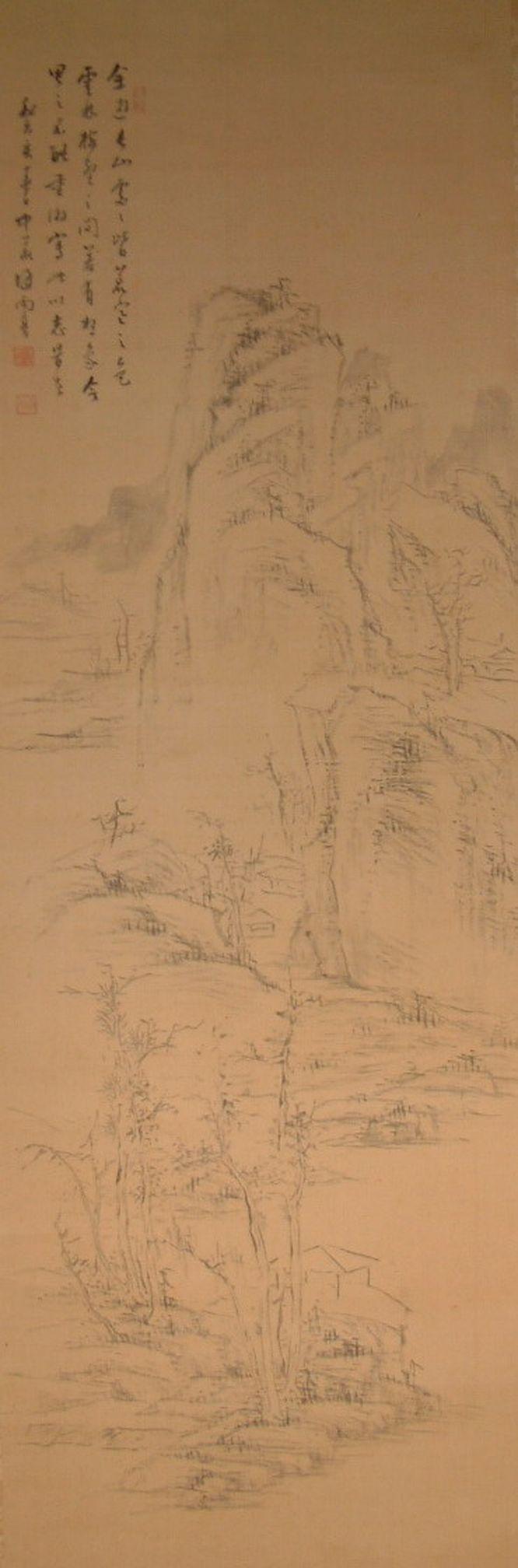 麻苍尤?y.l??[Nzx?Z?_初画山水,泛学无宗.中岁得师王翚,遂大变.笔墨苍秀,小幅及浅绛尤妙.