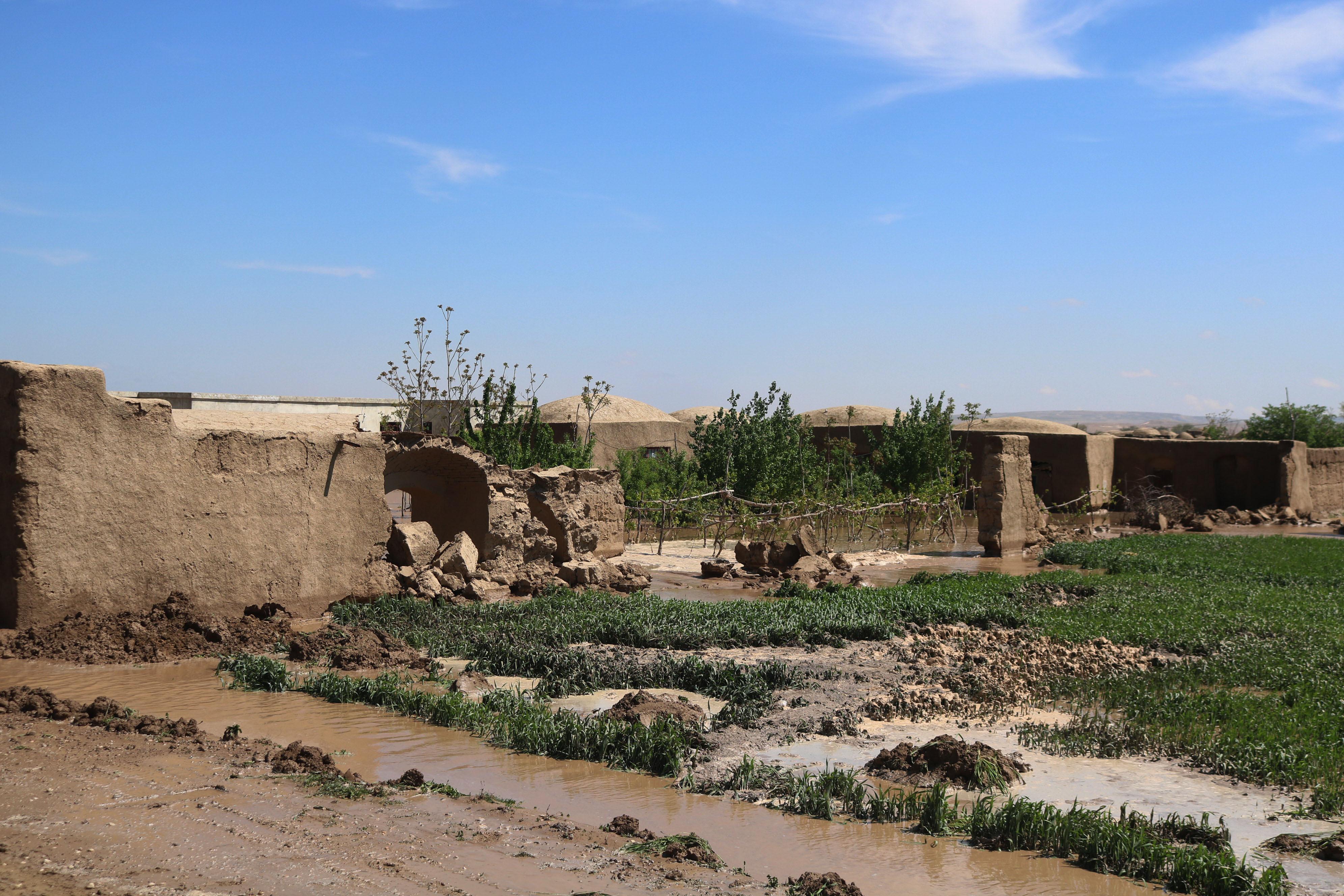 阿富汗北部遭遇洪涝灾害