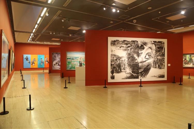 深圳建市以来规模最大进京展览正展出,近3成绘画作品首亮相(图3)