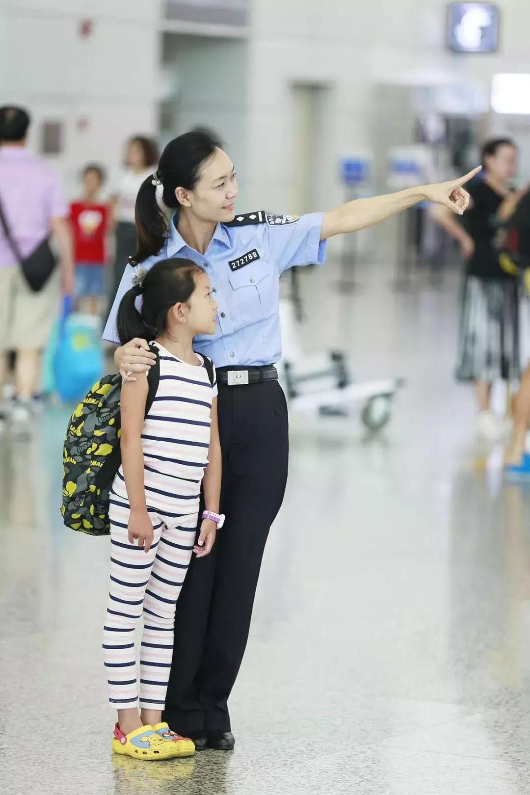 女神月 致敬广东机场公安女警(图40)