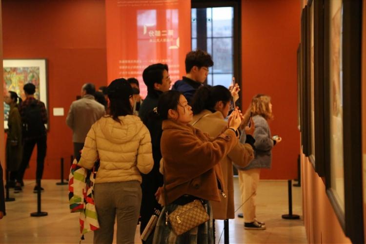 深圳建市以来规模最大进京展览正展出,近3成绘画作品首亮相(图2)