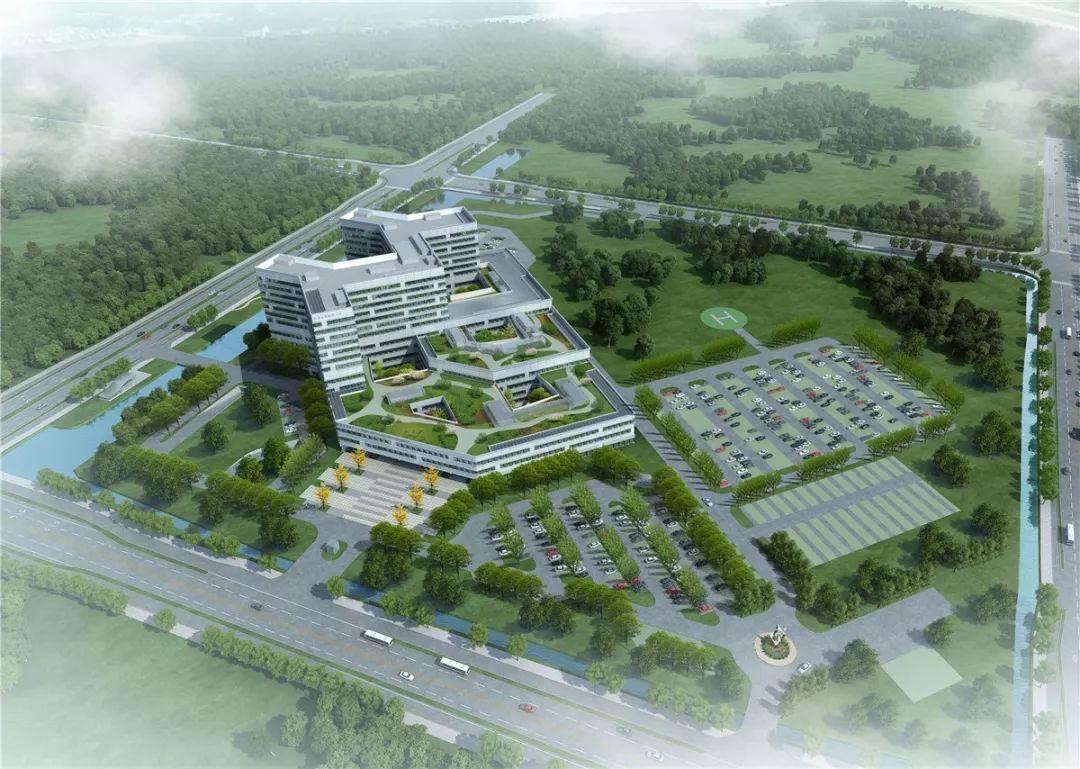 规划图 苏州市独墅湖医院 苏州大学医学中心
