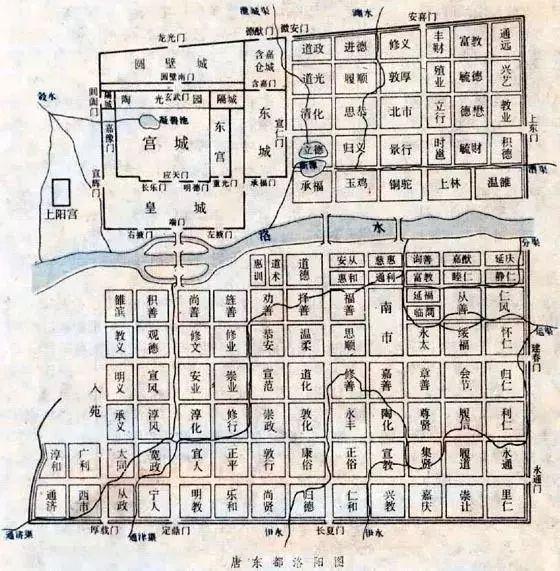 大唐庄东区平面图
