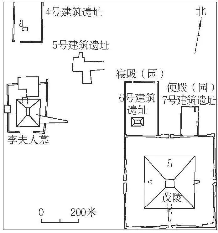 秦始皇陵平面图高清