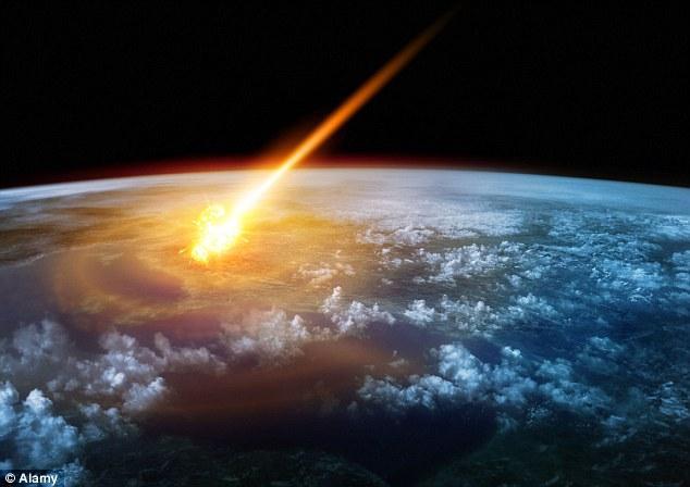 小行星撞击那一刻,白垩纪结束了,古近纪开始了
