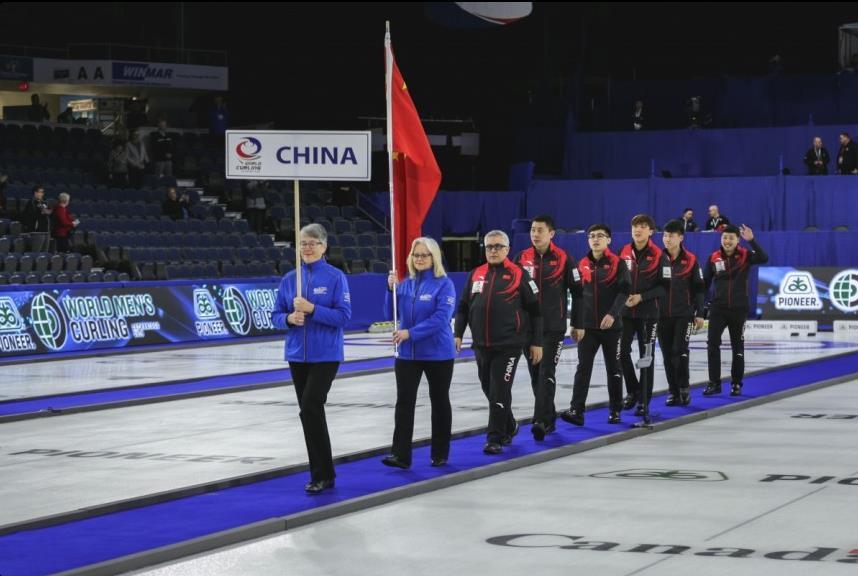 男子冰壶世锦赛:中国首战失利 平昌冬奥会冠军遭爆冷
