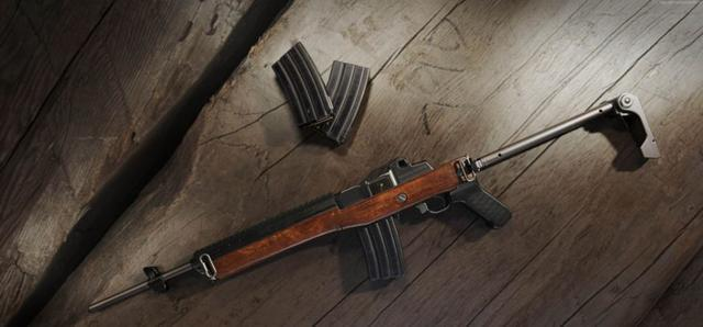 绝地求生 中这几把枪的稳定性很高,第二个已经取代了M416
