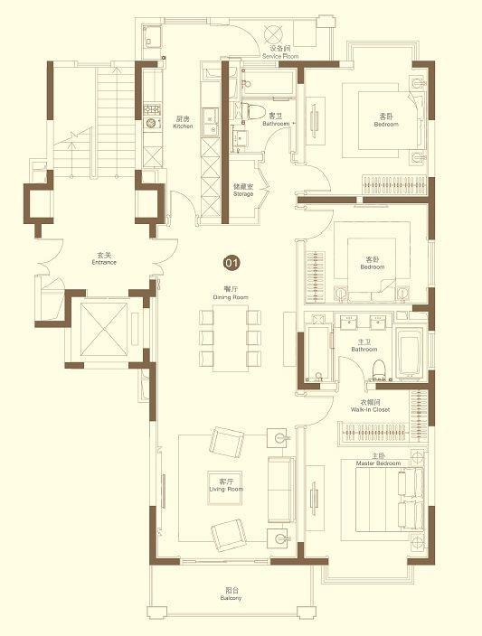 160 房屋设计图