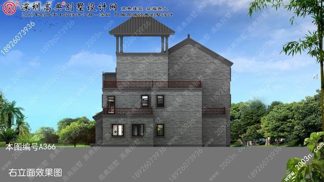 二层别墅设计图纸全套首层292平方米二层半别墅图纸