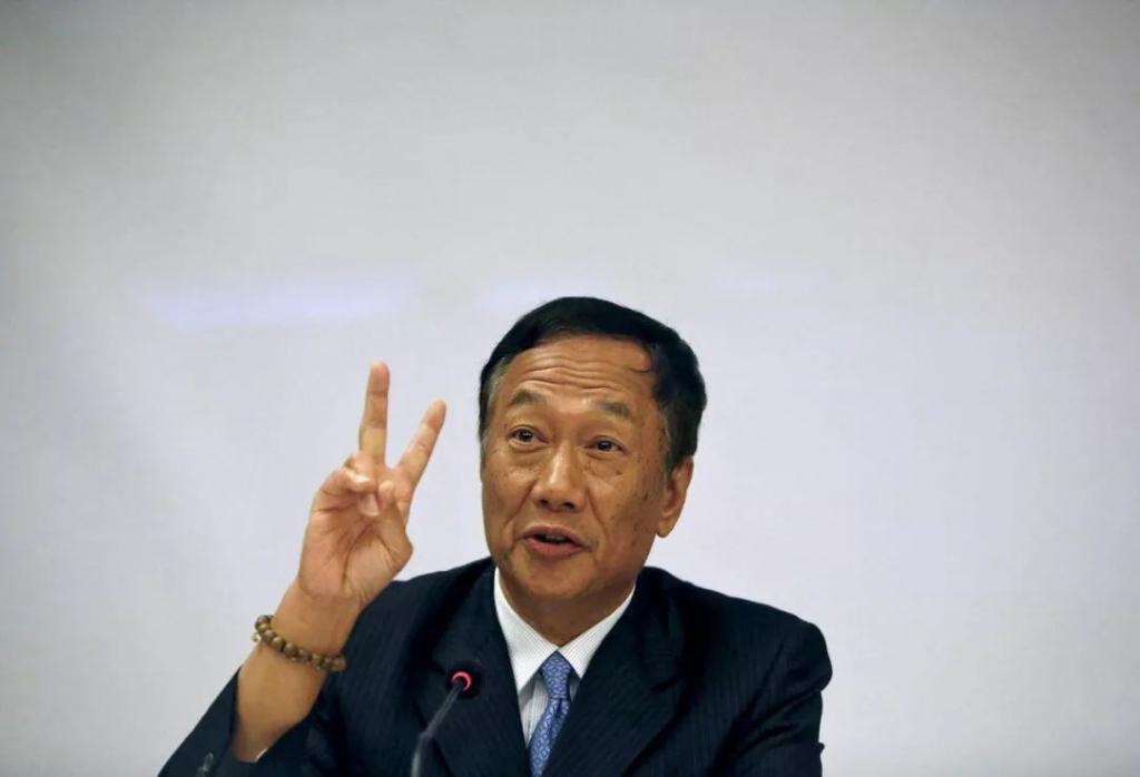 【富士康 A 股首秀:老板身家 490 亿成台湾首富】 富士康老板