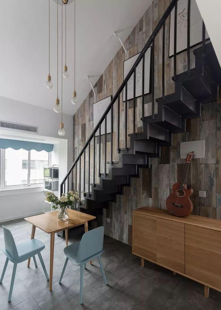 北欧风复式楼梯设计图