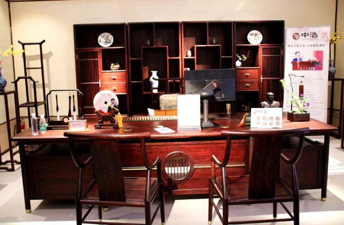 传承中华浩瀚文化 打造实木新中式办公家具第一品牌