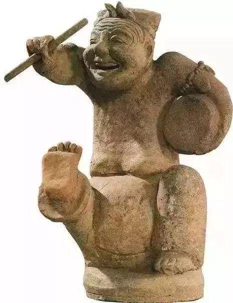 东汉时期的说唱俑