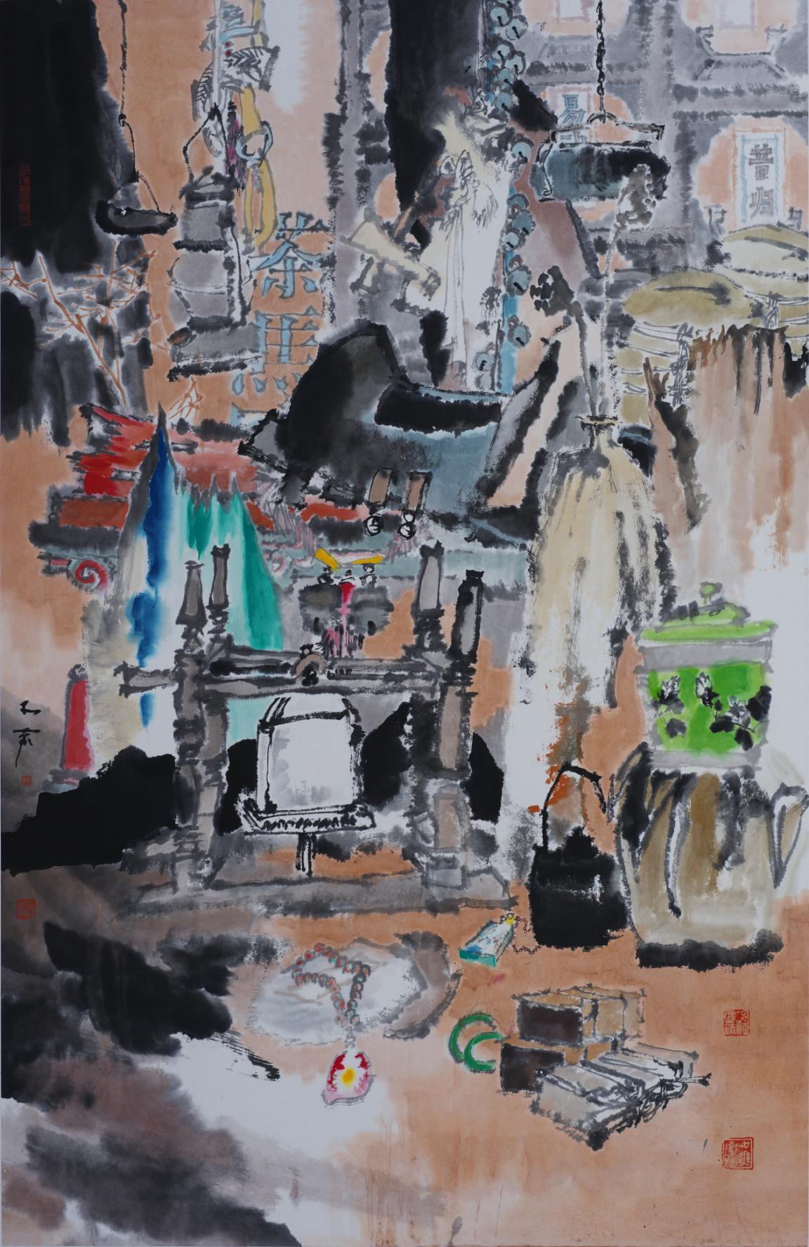 西徂二十载 携画回贵州 ――陈航中国画作品展在贵州美术院开幕