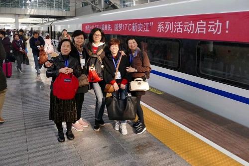 乘高铁免门票上铁国旅组织上海人游建德