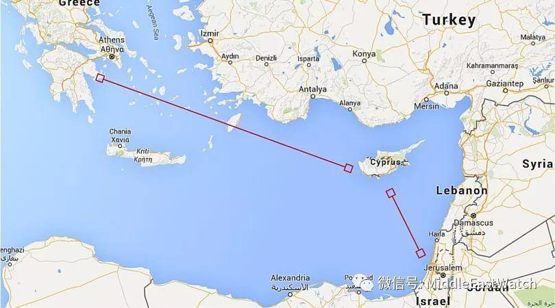 塞浦路斯、希腊和以色列中东新联盟服务美国利益