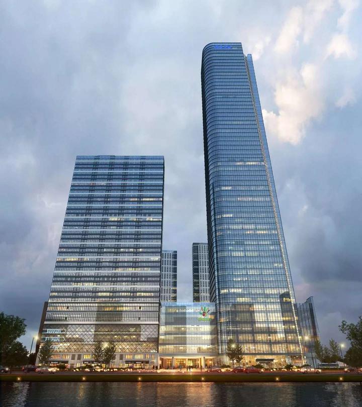 280米城市地标 奥克斯中心将成杭州新高度