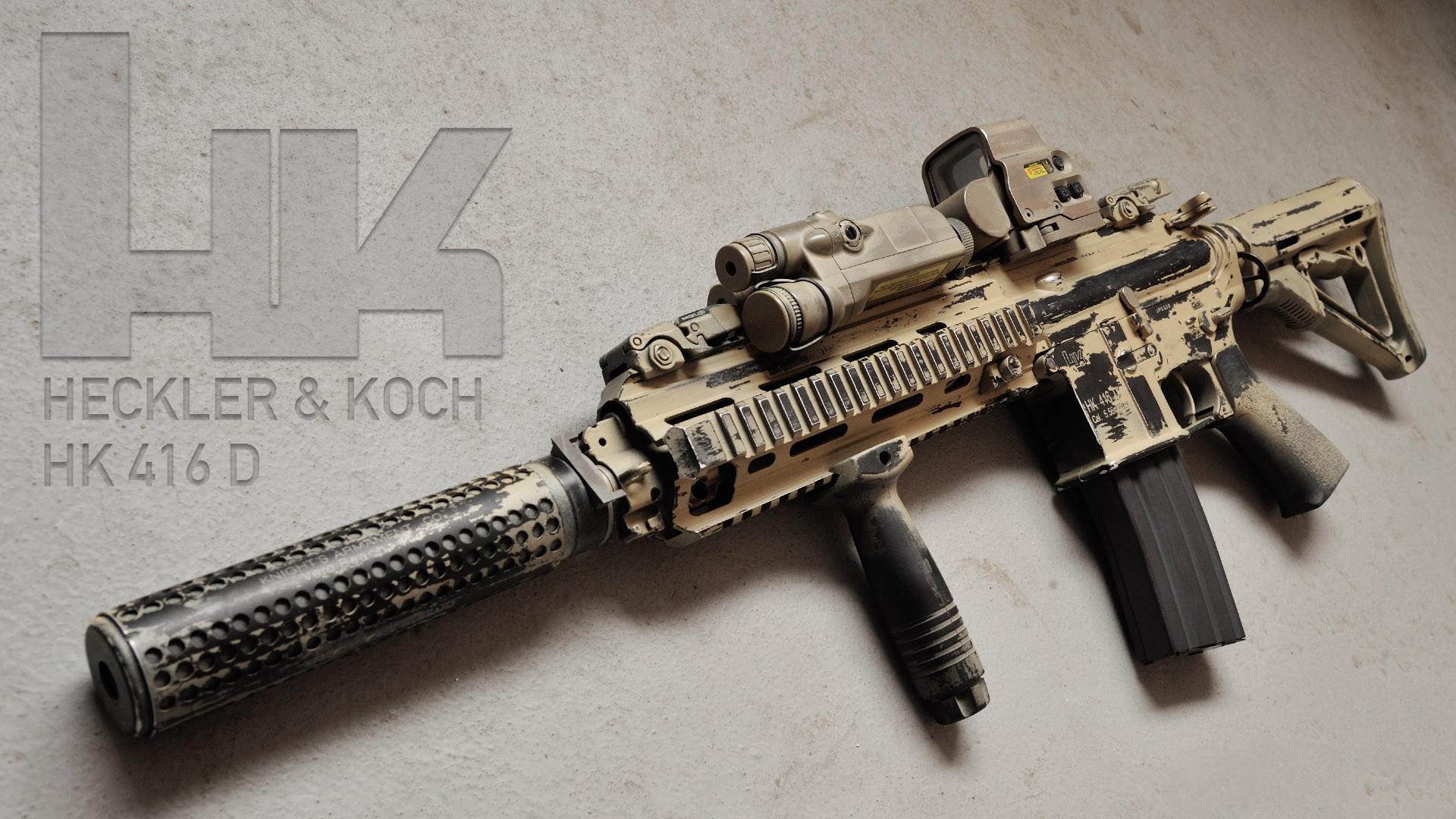 HK416步枪靠什么赢得了特种部队的青睐