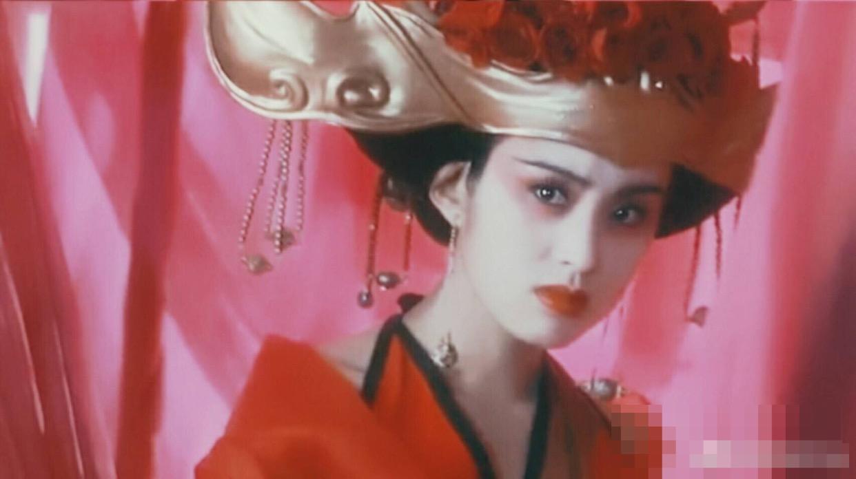 影視劇之中最美的女魔頭,張敏的這個角色無人能超越_梅超風